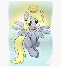 Derpy Phone Case Poster