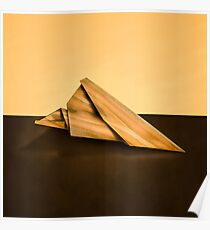 Paper Airplanes of Wood 2 Poster