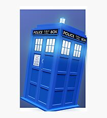 Doctor Who TARDIS Phone Case Photographic Print