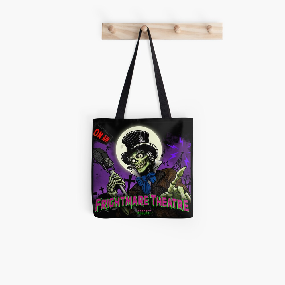 FRIGHTMARE THEATRE PODCAST MAIN Tote Bag