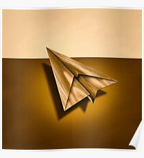Paper Airplanes of Wood 1 Poster