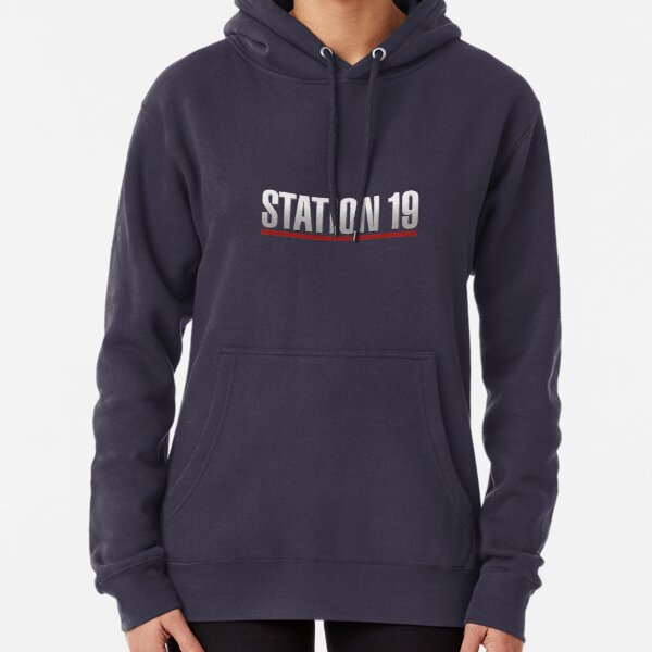 Station 19 Logo Pullover Hoodie