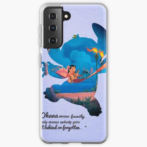 Lilo & Stitch ~ Ohana Samsung Galaxy Soft Case