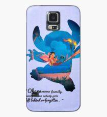 Lilo & Stitch ~ Ohana Hülle & Klebefolie für Samsung Galaxy