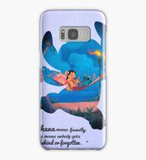 Lilo & Stitch ~ Ohana Samsung Galaxy Case/Skin