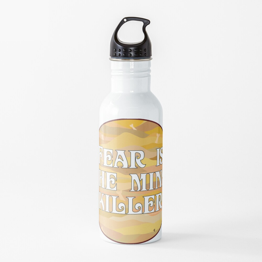 Fear is the Mind Killer Dune 2020 Movie Water Bottle