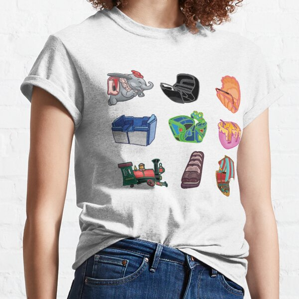 Ride Vehicles (without Caption) Classic T-Shirt