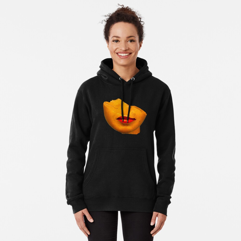 a queen lips Pullover Hoodie