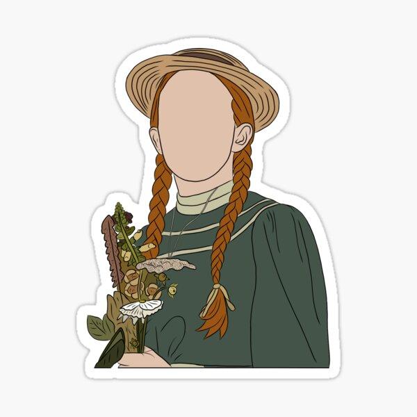 Anne Shirley-Cuthbert - Anne With An E Sticker Sticker
