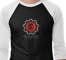 ATOMIKON Hot Rods & Motorcycles Men's Baseball ¾ T-Shirt