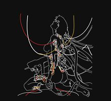 Ghost In The Shell - White on Dark Unisex T-Shirt