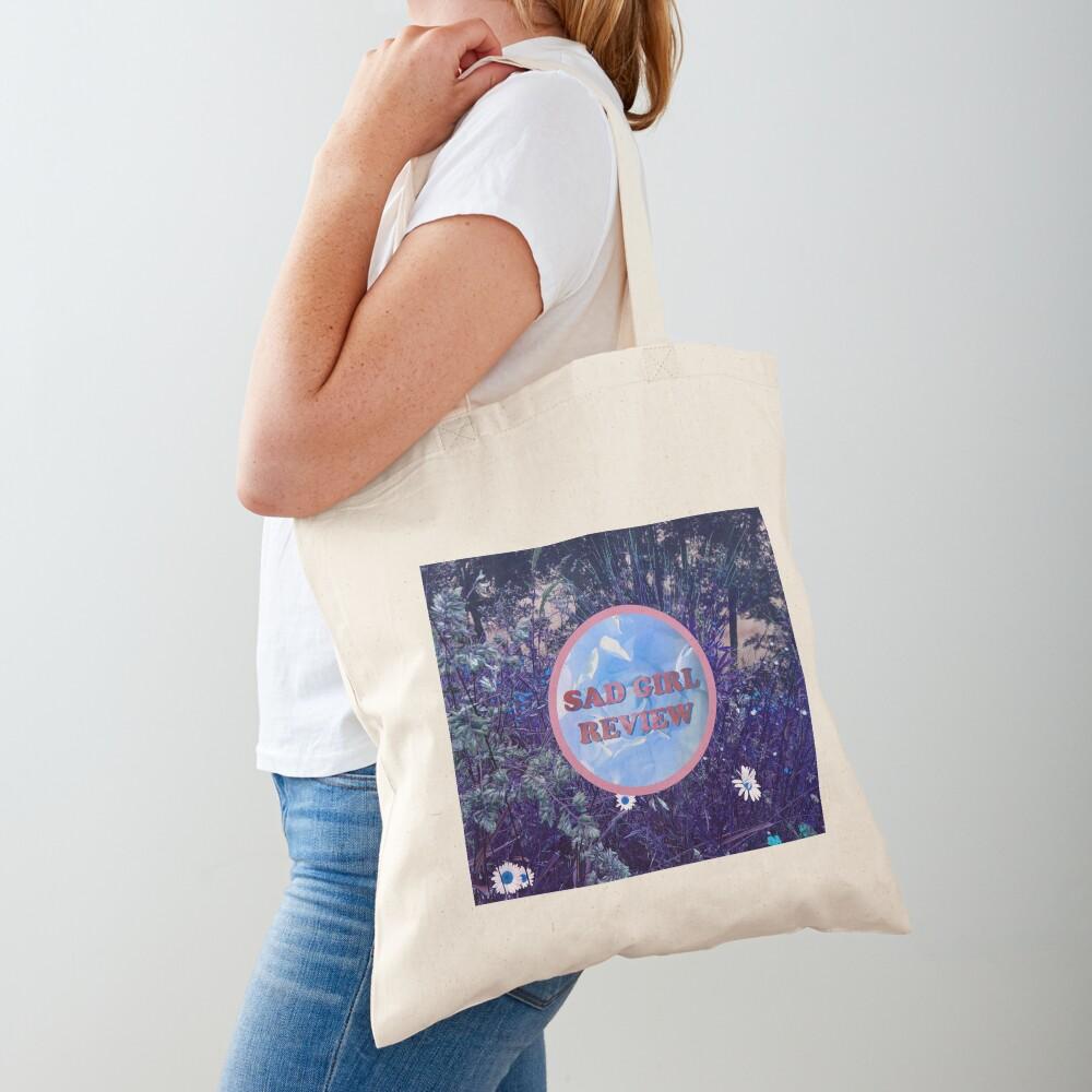 Sad Girl Review (Purple Daisy Edition) Tote Bag