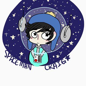 Spaceman Craig by mothprincess