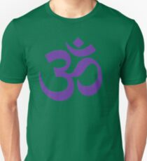 PURPLE OM Unisex T-Shirt