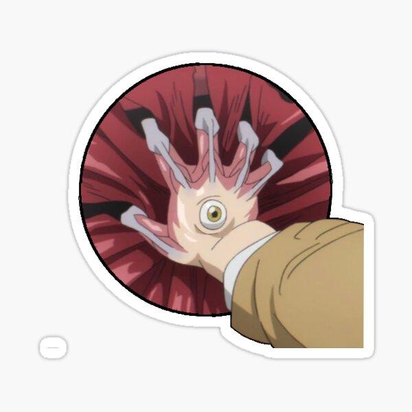 Parasyte Hand Sticker