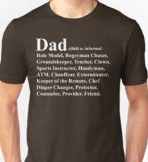 Funny Dad Definition Unisex T-Shirt