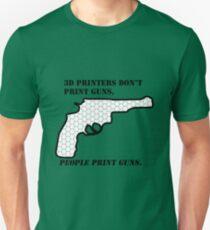 3D printers don't print guns T-Shirt