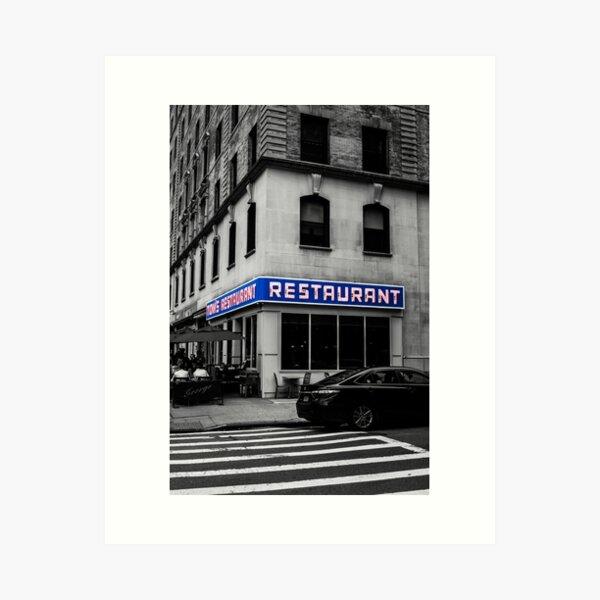 Toms Restaurant Kunstdruck