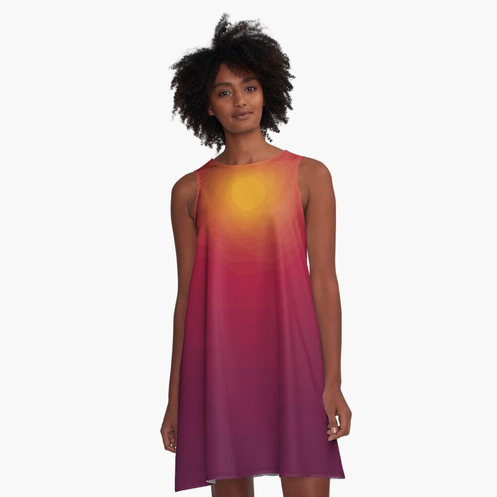Summer Blend A-Line Dress