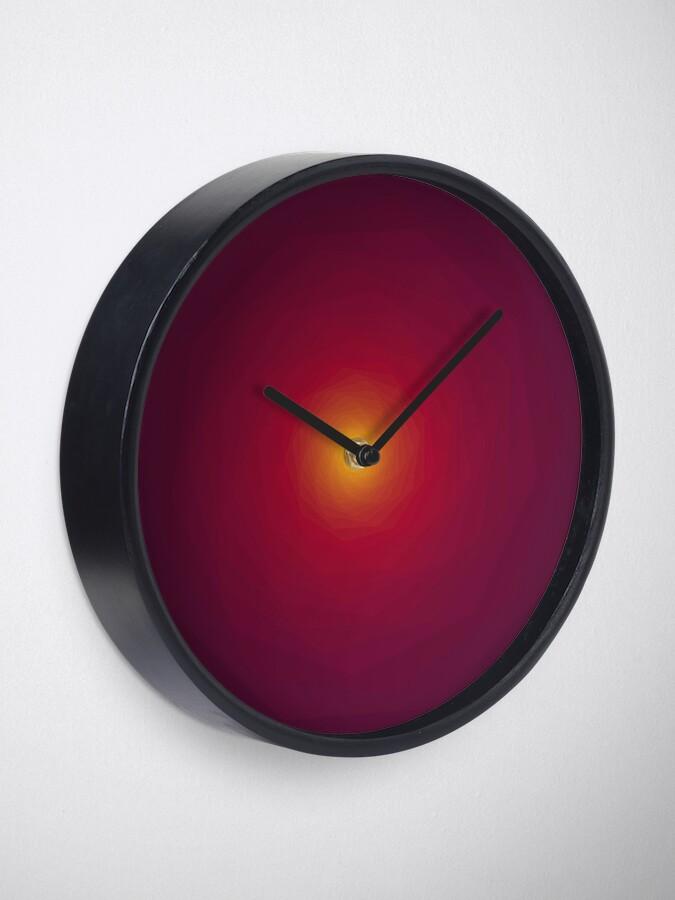 Alternate view of Summer Blend Clock