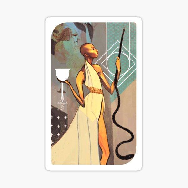 Dragon Age Inquisition Vivian Tarot card Sticker