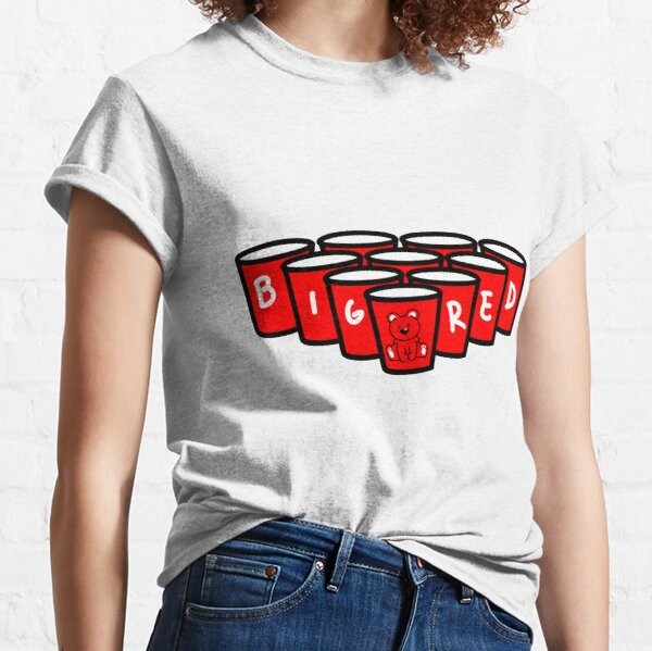 Big Red Beer Pong Classic T-Shirt