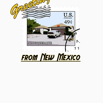 Greetings from New Mexico by Snogard