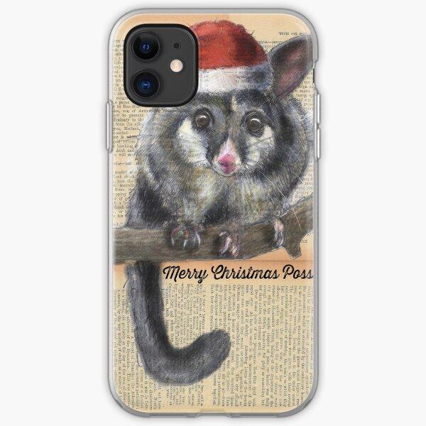 Christmas Possum iPhone Soft Case