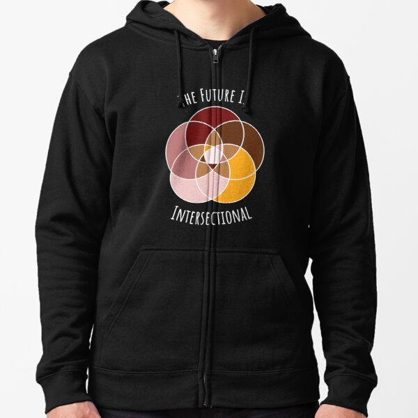 The Future Is Intersectional Zipped Hoodie