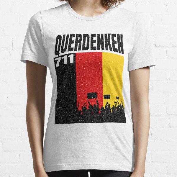 Demonstration Widerstand Querdenker 711 Grundgesetz Protest Essential T-Shirt