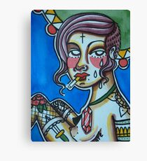 Cigarette Punk Canvas Print