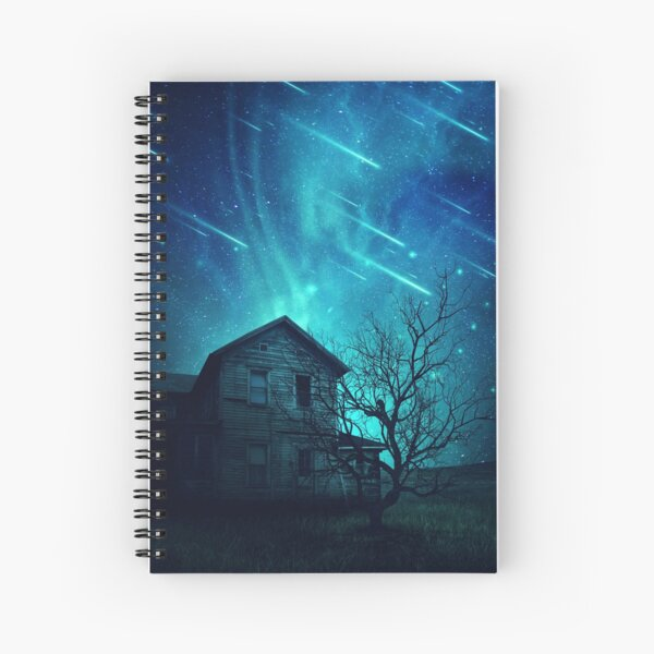 No One Home when stars are falling... Spiral Notebook