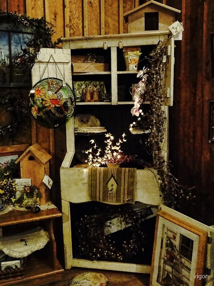 Country Christmas decor by vigor