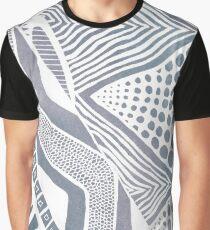 Tribal Grey Graphic T-Shirt