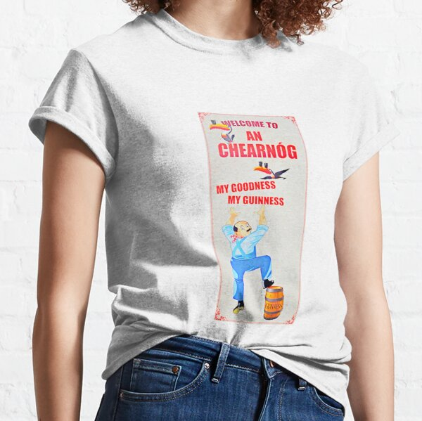 A vintage Guiness Advert Classic T-Shirt