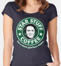 Star Stuff Coffee Women's Fitted Scoop T-Shirt
