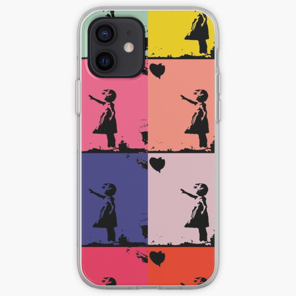 Tribute to Banksy 7 iPhone Soft Case