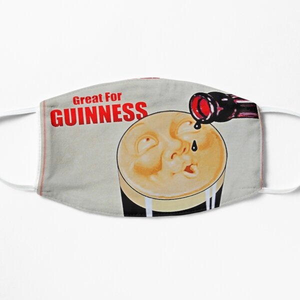 A vintage Guiness Advert Mask