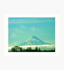 Volcán Osorno................Chile Art Print
