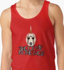 Face McShooty- Borderlands 2 (Simplified Face&Quote) Tank Top