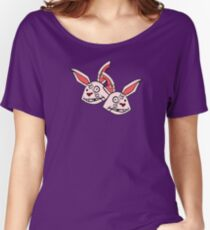 Mushy Snugglebites & Felicia Sexopants- Borderlands 2 Women's Relaxed Fit T-Shirt