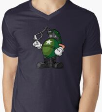 Marcus Munitions Grenade - Borderlands 2 Men's V-Neck T-Shirt