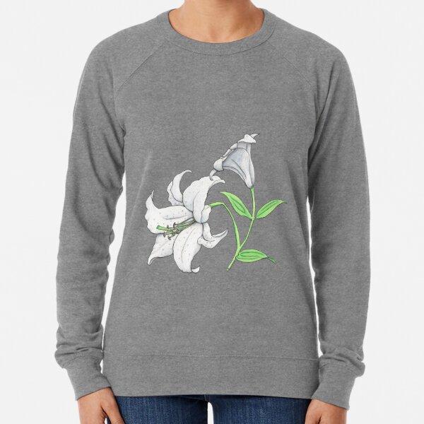 Lily (Lilium x cultorum 'Casablanca') Lightweight Sweatshirt