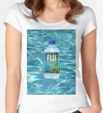 Fiji Water T-Shirt Women's Fitted Scoop T-Shirt