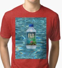 Fiji Water T-Shirt Tri-blend T-Shirt
