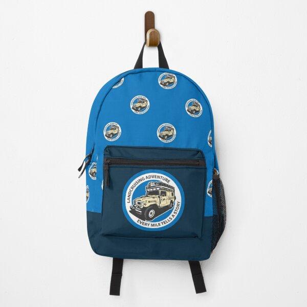 Blue Circle  Backpack