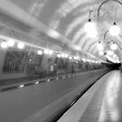 Metropolitan Paris Station by eic10412