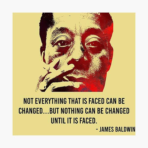 James Baldwin Photographic Print