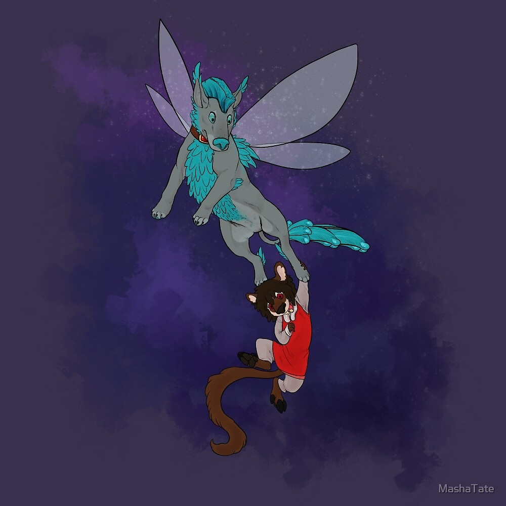 Flight of Fancy - Kaur and Symeon's Adventure! by MashaTate