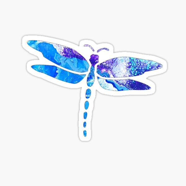 Drangonfly design Sticker